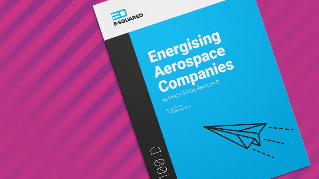 Energising aerospace companies behind AS9100-D